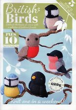~ Super Little Knitting Pattern Book ~ British Birds ~ Five Gorgeous Patterns ~