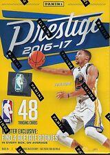 2016-17 Panini PRESTIGE Basketball NBA Trading Cards New 48ct. Blaster Box