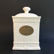 THL Squiggles Shabby Chic Sugar Canister with Lid