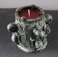 Halloween Holiday Party Four Skeletons Bone Design Scented 3'' Candle Decoration