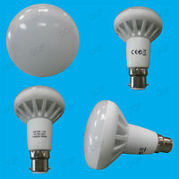 2x 13W R80 Reflector Spot Light LED BC Bulb B22 Daylight White 6500K Lamp 1000lm