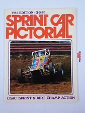 Sprint Car Pictorial 1981 Edition USAC Sprint Dirt Champ Review Yearbook