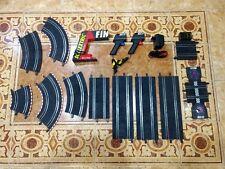 SUPER LOTE pistas accesorios Scalextric Compact curva recta conexion contador