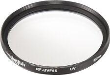 Rocketfish RFUVF55 55MM UV Lens Filter For Canon Nikon Very Good 2D