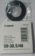 Canon Step-Up Ring SR-30.5/46 DZ6-1201 Lightly Used Free Shipping