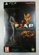 F.3.A.R. FEAR 3 F.E.A.R. Édition Collector Française pour Playstation 3 PS3 NEUF