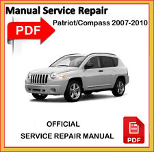 Jeep Patriot / Jeep Compass 2007 2008 2009 2010 Service Repair Workshop Manual