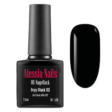 Shellack Depp Black 62  7,5 ml - Polish Nagellack Gel Lack Base-Coat