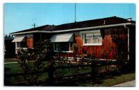Victor Sun-Controlled Folding Aluminum Awnings, Costa Mesa, CA Ad Postcard