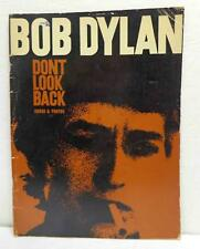 Vintage 1968 Bob Dylan - Don't Look Back - Songs & Photos - Songbook!