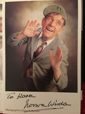 More details for hand signed norman wisdom photo card personalised