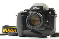 [Near MINT+]  Nikon F4 S Film Camera AF NIKKOR 50mm F1.4 Lens Type E From JAPAN