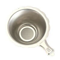 Stainless Steel Double-layer Fine Mesh Strainer Sieve Diameter:7.4 mm