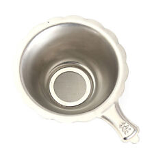 Stainless Steel Double-layer Fine Mesh Tea Strainer Filter Sieve Diameter7.4 mm!