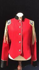 New- Ladies North American Frontier Red Wool Jacket   Sz. Small   Western