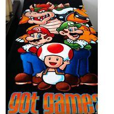 Super Mario Bath Beach Swim Towel 100% Cotton Kids Boy Girl Anime Towel 147*71CM