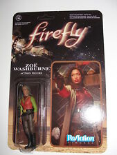 Funko Super7 ReAction Firefly Zoe Washburne Action Figure-New