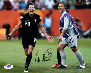 ABBY WAMBACH AUTHENTIC AUTOGRAPHED SIGNED 8X10 PHOTO TEAM USA PSA/DNA 101378