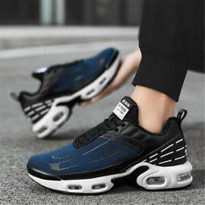 Mens Air Athletic Running Tennis Shoes Lightweight Gym Jogging Sports Trainers