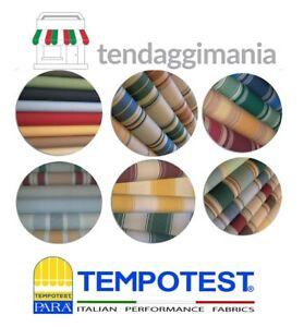 TESSUTO TEMPOTEST PARA' CAMBIO TELO SOSTITUZIONE TENDA DA SOLE SU MISURA PARÀ