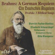 [BRAND NEW] CD: BRAHMS: A GERMAN REQUIEM / DVORAK: 3 BIBLICAL SONGS