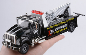 1:50 Diecast Road Rescue Emergency Vehicles Alloy American Tow Truck Model Toys