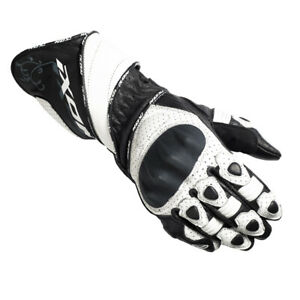 Ixon RS Lead HP Lady CE Approved Motorcycle Motorbike Sports Gloves Blk Wht 2XL