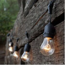 ~Newhouse Lighting Outdoor Weatherproof Commercial Grade String Lights-New Other