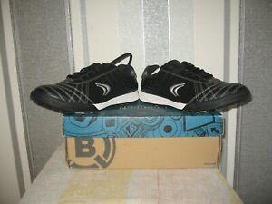 Clarks boys trainers swerve time black combi lea uk size 4.5