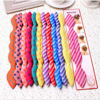 Easily Magic Sponge Clip Foam Donut Hair Styling Bun Curler Tool Twist Tool sTsT
