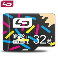 Micro SD TF Card 32GB Class Flash Memory Card for Smartphone Adapter