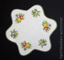 Tischdecke OSTEREIER Tischdeckchen OSTERN Osterdeckchen EIER Deckchen 45x45cm