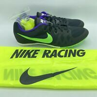Nike Zoom Rival M Track Running Sprint Cleats Shoes Black 806555-035 Men's 13