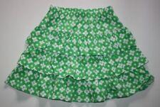 Faldas de niña de 2 a 16 años verdes de 100% algodón