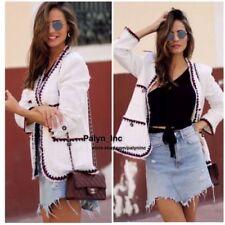 1cbb5c58 Zara Tweed Coats & Jackets for Women for sale   eBay