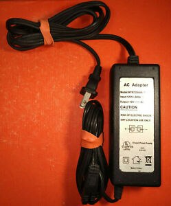Brookstone / Waring Pro compatible MTR72DAUL-1250A AC adapter 12V 5A