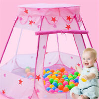 Ocean Pool Play Tent Tents Toys Portable Outdoor Gift Fairy House Ball Pool Toys