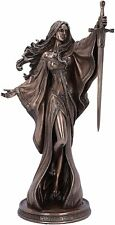 More details for nemesis now james ryman lady of the lake fairytale enchantress figurine - 24 cm