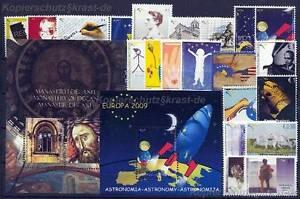 KOSOVO UNMIK - JAHRGANG YEAR 2009 KOMPLETT POSTFRISCH NR. 123 - 146 **