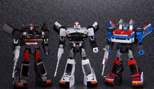 Takara Transformers Masterpiece Prowl, Streak and Smokescreen - MISB