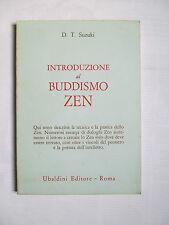 D.T. Suzuki INTRODUZIONE AL BUDDISMO ZEN Astrolabio 1970 I edizione italiana