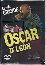 OSCAR D' LEON DVD EL MAS GRANDE 19 EXITOS EN VIVO DESDE VENEZUELA  DETALLES