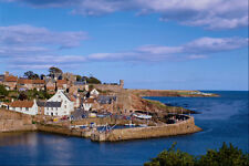 557074 One Of The Picturesque East Neuk Ports Fife Scotland A4 Photo Print