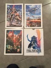 LITHOGRAPHIE FINAL FANTASY XII      ---  COLLECTOR ET NUMEROTE
