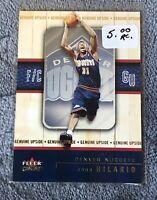 2002-03 Fleer Genuine #121 Nene Hilario RC Rookie Nuggets /2002