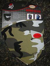 Urban Grey Black White Camo Camoflauge Military Face Mask Paintball Biker ATV