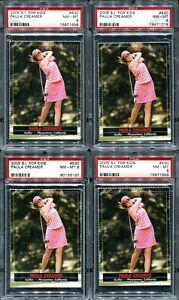 2005 S.I For Kids Paula Creamer RC 4 Card Lot PSA 8 Near Mint- Mint Pink Panther