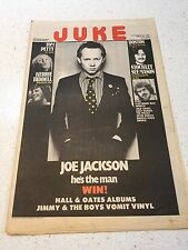 JUKE MAGAZINE NO.242 & 244 JOE JACKSON TOM PETTY POLICE ANGELS STATUS QUO BOSTON