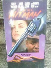 VHS Diary of a Hitman 1991 Forest Whitaker, James Belushi, Sharon Stone