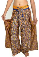 Thai Fisherman Silk Women XL Plus Size Pant 3 Pcs Lot